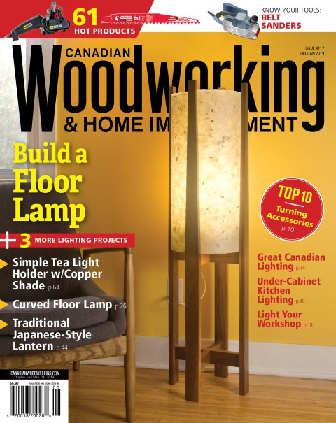 Covers Sell Blog Archive Canadian Woodworking Build A Lamp